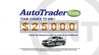 AutoTrader.com TV Spot, 'Win $2500' - 8 commercial airings