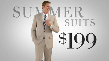 JoS. A. Bank TV Spot, 'The Most Incredible Suit Sale' - 72 commercial airings