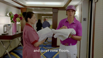 Crowne Plaza TV Spot, 'Signing Autographs' Featuring Rickie Fowler - Thumbnail 7