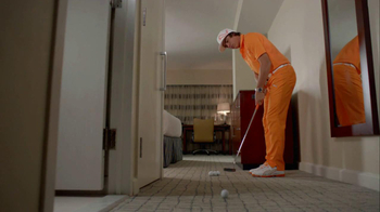 Crowne Plaza TV Spot, 'Caddy' Featuring Rickie Fowler - Thumbnail 8