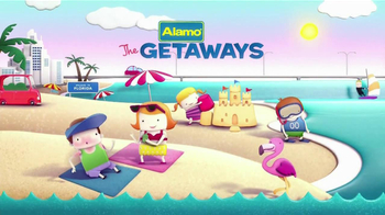 Alamo Deal Retriever TV Spot, 'The Getaways Beach' Song by The Go-Go's - Thumbnail 1