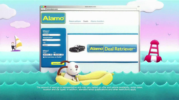 Alamo Deal Retriever TV Spot, 'The Getaways Beach' Song by The Go-Go's - Thumbnail 2