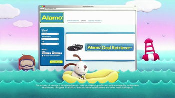Alamo Deal Retriever TV Spot, 'The Getaways Beach' Song by The Go-Go's - Thumbnail 3