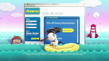 Alamo Deal Retriever TV Spot, 'The Getaways Beach' Song by The Go-Go's - Thumbnail 4