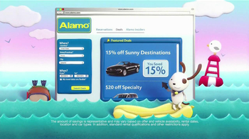 Alamo Deal Retriever TV Spot, 'The Getaways Beach' Song by The Go-Go's - Thumbnail 5