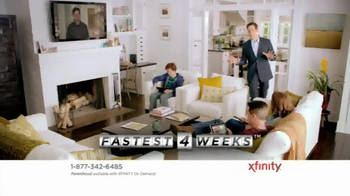 XFINITY TV Spot, 'Fastest 4 Weeks' - Thumbnail 2
