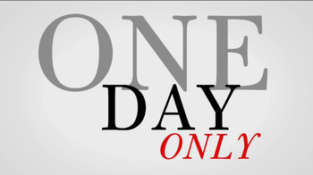 JoS. A. Bank Super Tuesday Sale TV Spot, 'One Day Only'