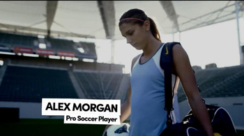 Degree Deodorants TV Spot Featuring Alex Morgan  - 184 commercial airings