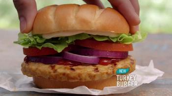 Burger King Bacon Cheddar Stuffed Burger TV Spot, 'BurgerFest' - Thumbnail 7