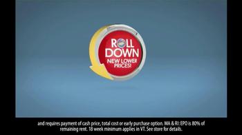 Rent-A-Center RAC Roll Down TV Spot - Thumbnail 7