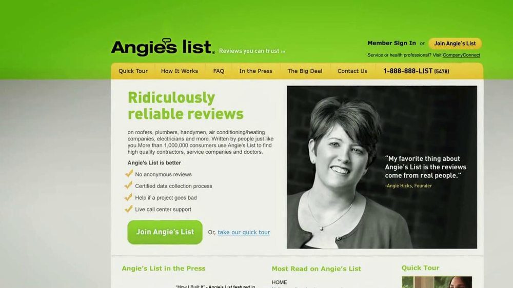Angie's List TV Commercial, 'Finding A Contractor'