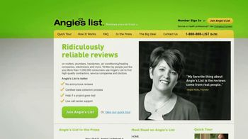 Angie's List TV Spot, 'Finding A Contractor'