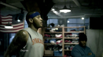 Degree Deodorants TV Spot Featuring Carmelo Anthony - Thumbnail 4
