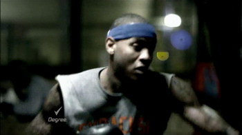 Degree Deodorants TV Spot Featuring Carmelo Anthony - 30 commercial airings