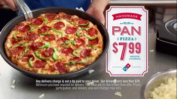 Domino's Pan Pizza TV Spot, 'Slowing Down' - Thumbnail 8