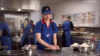 Domino's Pan Pizza TV Spot, 'Slowing Down' - Thumbnail 4