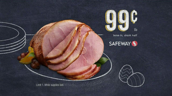 Safeway Deals of the Week TV Spot, 'Easter'