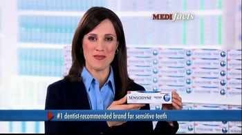 Sensodyne Repair and Protect TV Spot, 'MediFacts: Tooth Discomfort'