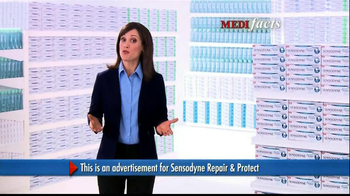 Sensodyne Repair and Protect TV Spot, 'MediFacts: Tooth Discomfort' - Thumbnail 2