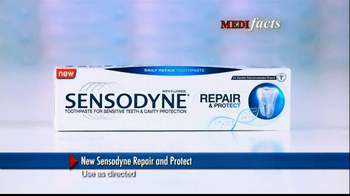 Sensodyne Repair and Protect TV Spot, 'MediFacts: Tooth Discomfort' - Thumbnail 5