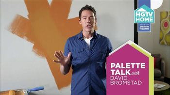 HGTV HOME by Sherwin-Williams TV Spot, 'HGTV' Feat. David Bromstad - 156 commercial airings