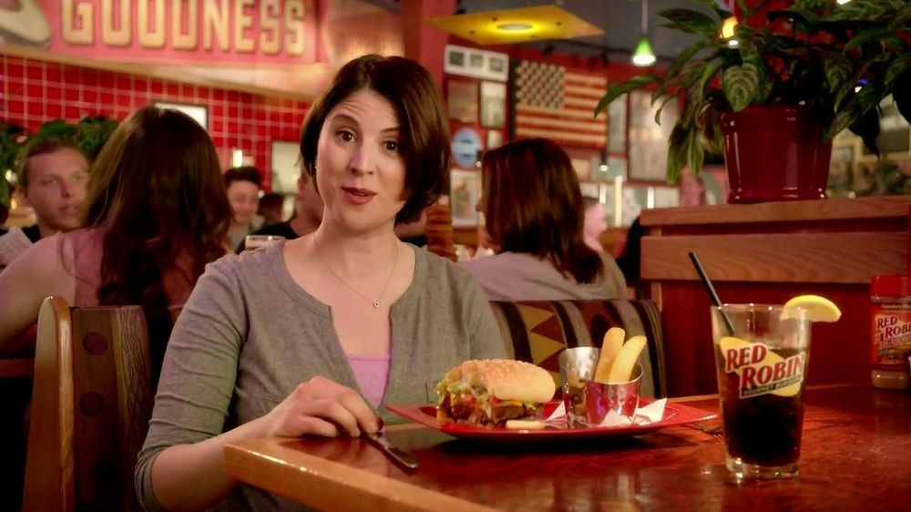Red Robin Bottomless Steak Fries TV Commercial, 'Booyah'
