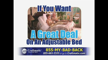 Craftmatic TV Spot, 'Great Deal' - Thumbnail 1
