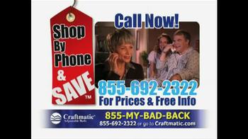 Craftmatic TV Spot, 'Great Deal' - Thumbnail 10