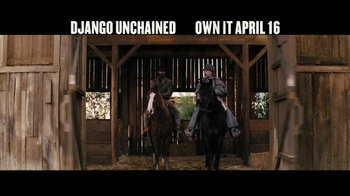 Django Unchained Blu-ray and DVD TV Spot - Thumbnail 3