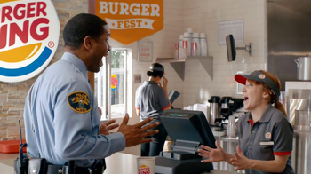 Burger King TV Spot, 'BurgerFest: Word Association' - 1047 commercial airings