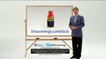 5 Hour Energy TV Spot, 'Whiteboard' - Thumbnail 9