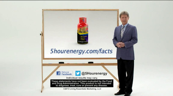 5 Hour Energy TV Spot, 'Whiteboard' - Thumbnail 8