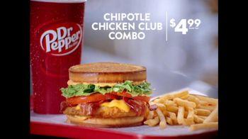 Jack in the Box Chipotle Chicken Club Combo TV Spot, 'Social Media Intern' - Thumbnail 5