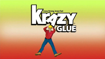 Krazy Glue TV Spot, 'The Krazy Big Fix' - Thumbnail 1
