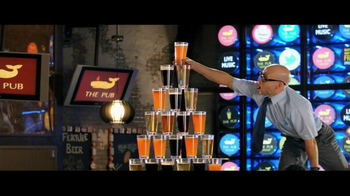 Monte Carlo TV Spot, 'Vertically Inventive Pubgoers' Ft. Blue Man Group - 253 commercial airings