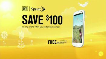 Sprint TV Spot, '$100 Off Phone: Spring'