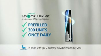Levemir FlexPen TV Spot, 'Once Daily' - Thumbnail 4