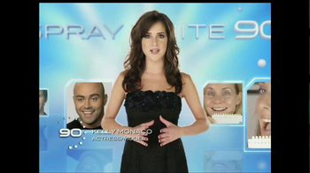 Spraywhite 90 TV Spot Featuring Kelly Monaco - 13 commercial airings