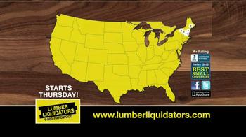 Lumber Liquidators TV Spot, 'Hardwood and Bamboo' - Thumbnail 10