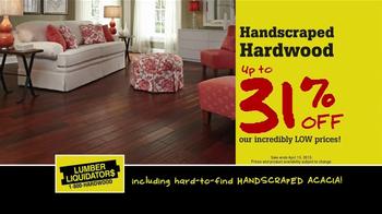 Lumber Liquidators TV Spot, 'Hardwood and Bamboo' - Thumbnail 5