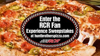 Hunt Brothers Pizza TV Spot, 'RCR Fan Experience Sweepstakes'