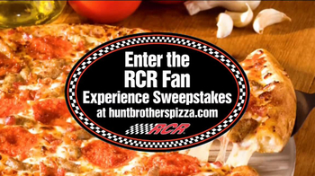 Hunt Brothers Pizza TV Spot, 'RCR Fan Experience Sweepstakes' - Thumbnail 6