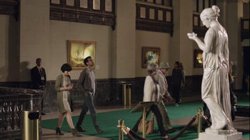 AT&T TV Spot, 'Checking Facebook at a Museum' - Thumbnail 4