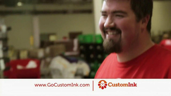 CustomInk TV Spot, 'Thanks Custom Ink' - Thumbnail 1