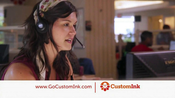 CustomInk TV Spot, 'Thanks Custom Ink' - Thumbnail 2