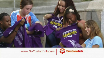 CustomInk TV Spot, 'Thanks Custom Ink' - Thumbnail 5