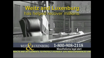 Weitz and Luxenberg TV Spot, 'Asbestos Exposure' - Thumbnail 9