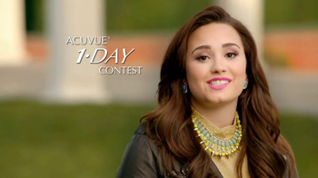 ACUVUE 1-Day Contest TV Spot Ft. Demi Lovato, Shay Mitchell, Dwight Howard - Thumbnail 6