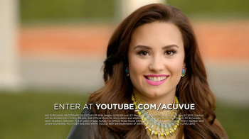 ACUVUE 1-Day Contest TV Spot Ft. Demi Lovato, Shay Mitchell, Dwight Howard - 94 commercial airings