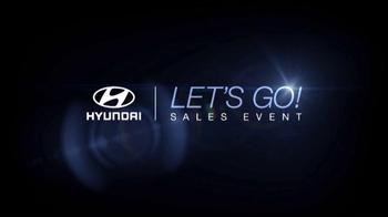 Hyundai Let's Go! Sales Event TV Spot, 'Santa Fe' - Thumbnail 2